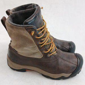 ❄ Keen Warm 🔥 200gr Insulated Size 9.5 Leather Waterproof Boots ❄